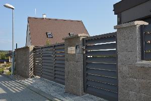 Jedinečné ploty / realizace č. 333